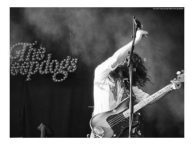 """Going to Buy Five Copies for My Mother"" Musician: Ryan Gullen Band: the Sheepdogs Event: Rock The Shores For: Absolute Underground Magazine  © Scott Fraser Photography prints.scottfraserphotography.com  #SFP #Monochrome #RollingStone #Saskatoon #SK #Saskatchewen #RoughRiders #Nikon #TheSheepdogs"