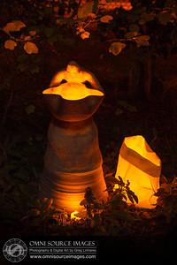 Autumn Lights Festival - The Gardens at Lake Merritt. Oakland, CA.
