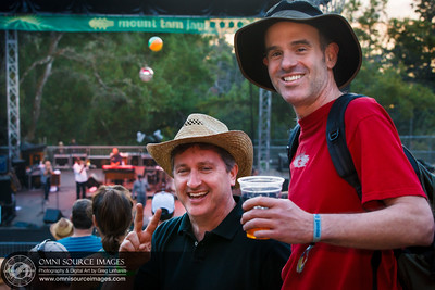 Happy Concert Goers at Mount Tam Jam 2013