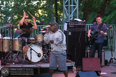 Corey Glover (from Living Color) performing with Galactic at the Mount Tam Jam 2013 on Mount Tamalpias.
