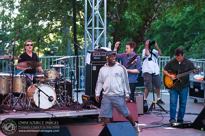 Corey Glover takes the Stage with Galactic at the Mount Tam Jam. Saturday, June 22, 2013 - Mount Tamalpias Amphitheater.