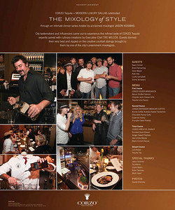 Mixology Event at Marquee Grill