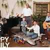 'One Big Happy Family' two-page spread in <br /> November 2011 issue of Dallas Child