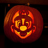 Mario Jack-o'-lantern