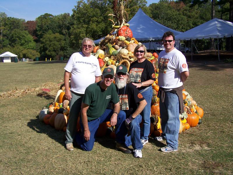 The crew.  Currie Stafford, Bruce Condill, John Fulton, Sr., Darlene Fulton and John Fulton, Jr.