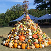 Completed pyramid.  We did use all the produce and some extra as well.