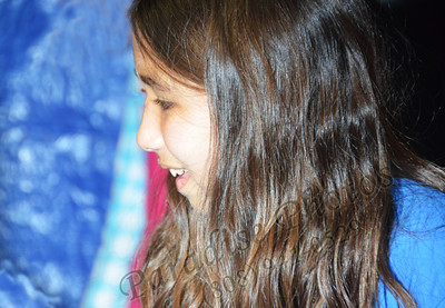 Girl at Punahou Ring Toss 98