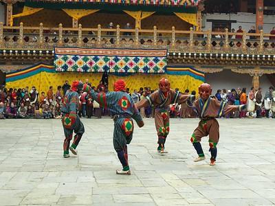 Bhutan Tsetchu Festivals