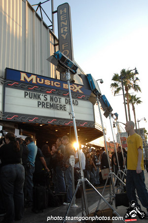 Punks Not Dead Movie Premier - at The Fonda Theater - Hollywood, CA - May 30, 2007