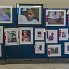 Some of the children's photography being displayed at the Putnam County Fair.