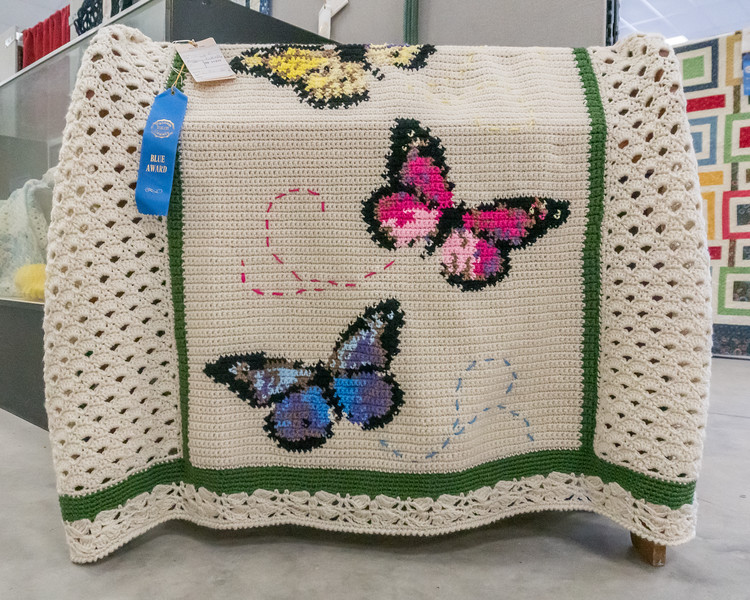 One of the award winning needlework items displayed at the Putnam County Fair this week. Fran Ruchalski/Palatka Daily News