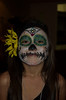 Leilani makes a beautiful Skeleton girl.