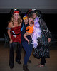 Pirate (Michelle), Roadrunner (Wanda), Li'l Pumpkin (Natasha) & Witch (Debbie) steppin' out.