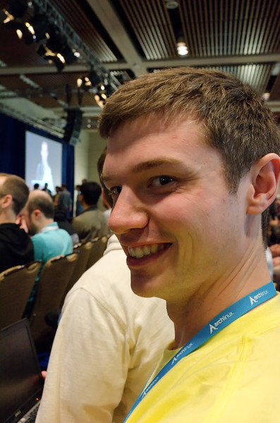 Were you this happy about PyCon???