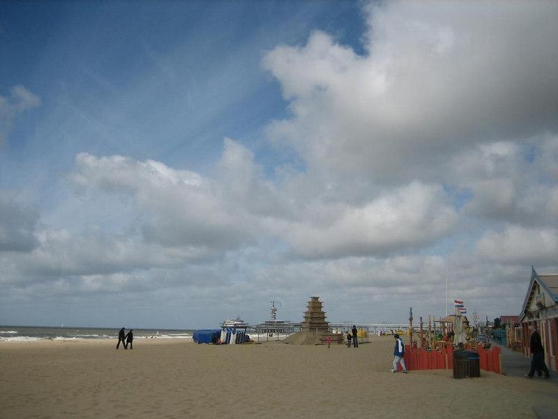 The beach of Scheveningen