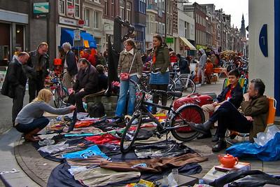Queens Day Free Market