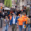 Queen's Day on Oude Leilestraat