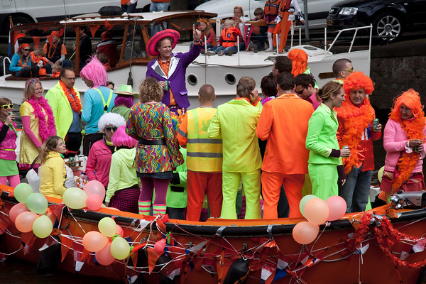 """Queen's Day on Prinsengracht 