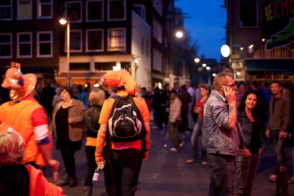 Queen's Night on Westerstraat