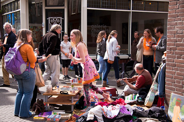 Queen's Day Vrijmarkt | Freemarket