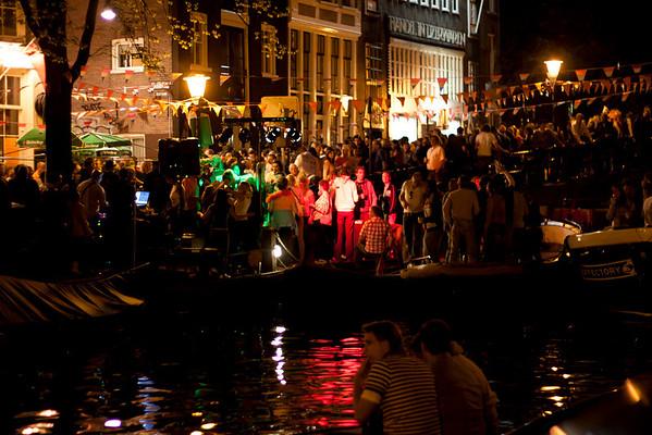 Queen's Night on Eglantiersgracht