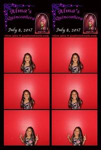 Quinceanera de Alma 07/08/17