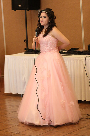 Quinceanera for Bianca,  Saturday, July 21, 2012
