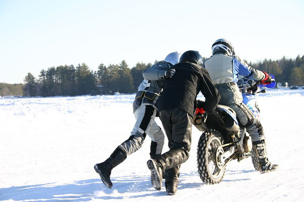 MAX BMW Motorcycle Ice Racing 1-31-2005