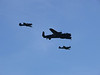 Battle of Britain Memorial Flight - Hurricane, Lancaster and Spitfire.
