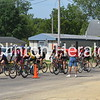 Ragbrai coming through Charlotte, Iowa<br /> <br /> Photographer's Name:  <br /> Photographers City and Country: ,