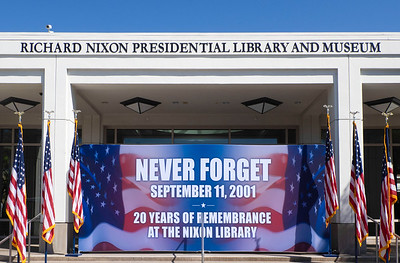The Nixon Library hosted the event.