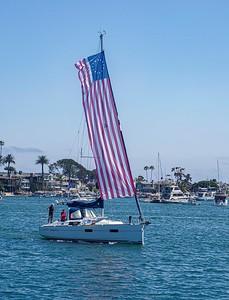 Giant flag ...giant hopes for the United States