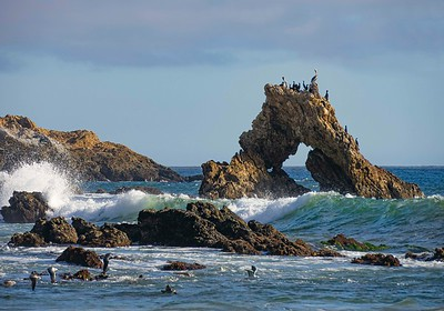 Surf and Window Rock