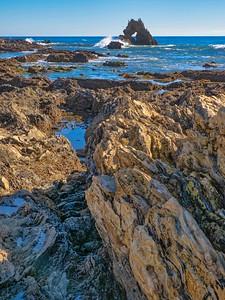 Long view to Window Rock