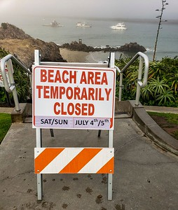 Beaches were ordered closed by Gov Nuisance...no one cared