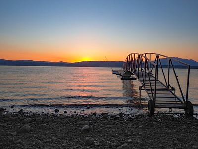 Sunrise on the lake