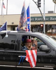Big flags...big hopes.