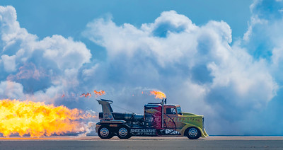 Shockwave: jet powered truck