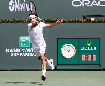 Federer...eyes closed