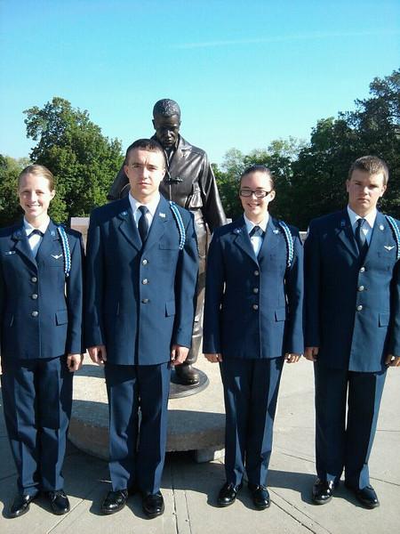 ROTC Color Guard - Firemans Memorial