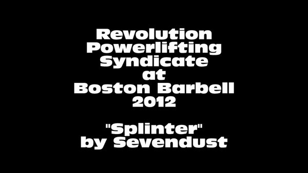 RPS Boston Barbell 2012