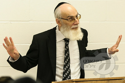 Rabbi Chaim Ilson at Ner Yisroel