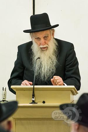 "Rabbi Ruderman zt""l's 28th Yartzeit siyum"