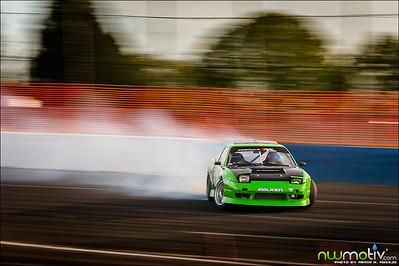 Evergreen Drift Pro-Am Round 1 2012