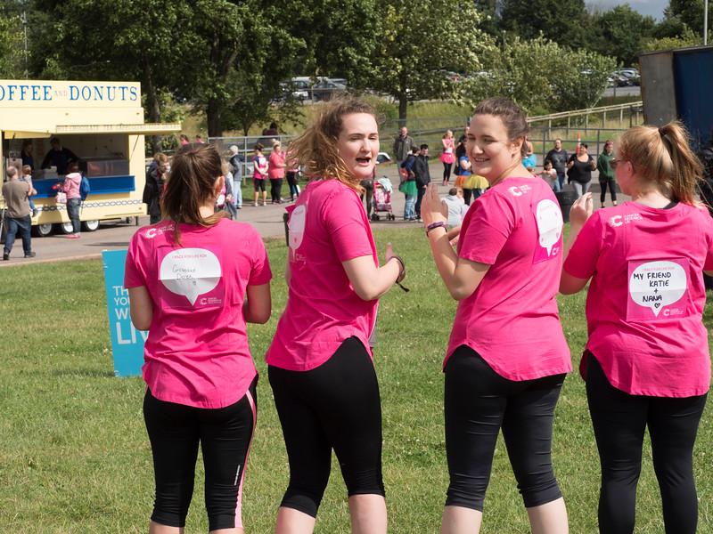 Ladies Race for Life 2017