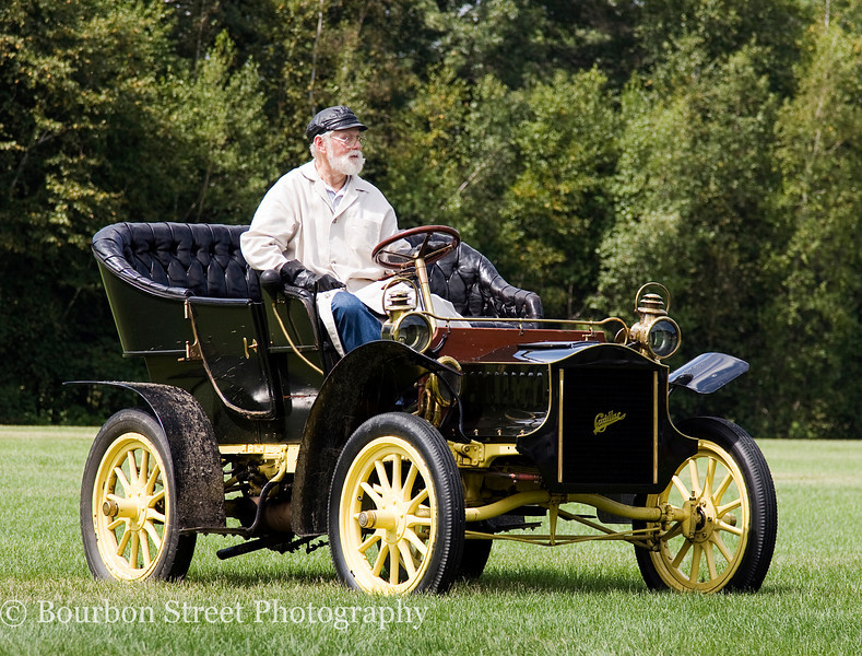 1908 Cadillac Open Roadster Runabout