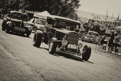 Vintage racing at the 2011 Gasser Reunion in Beaver Springs, PA