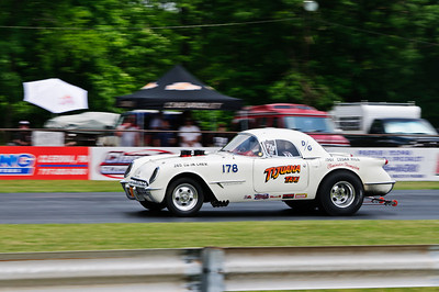 Vintage racing at the 2011 Gasser Reunion in Beaver Springs, PA (Tijuana Taxi)