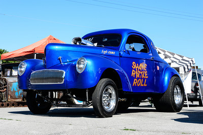 Willys Gasser at NHRA Hot Rod Reunion