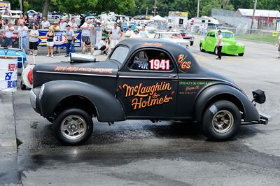 McLaughlin & Holmes Gasser at NHRA Hot Rod Reunion